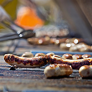 .The World's Largest Brat Fest continued Saturday May 29, 2010 on Willow Island at the Alliant Energy Center in Madison, Wisconsin.