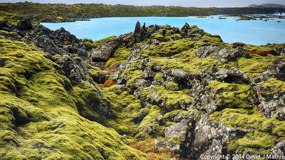 Trolls Lair. Moss Covered Lava Field Just Outside the Blue Lagoon in Iceland. Composite of 3 images taken with a Fuji X-T1 camera and 23 mm f/1.4 lens (ISO 200, 23 mm, f/11). Google HDR Efex Pro.