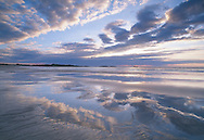 Wet beach, Feall Bay, Coll, Scotland