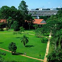 South America; Latin America; Argentina; Brazil; Iguacu Falls. Sheraton Internacional Hotel.