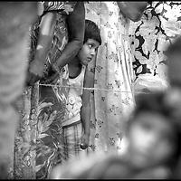 Mirisa , Sri Lanka 3 January 2005<br /> A Sri Lanka's girl waits for medical treatments by the Korean Emergency Medical Care in a field hospital.<br /> Photo: Ezequiel Scagnetti