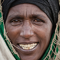 Indigenous woman from Mehal Meda on the Guassa Plateau in the Ethiopian Highlands