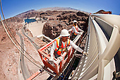 Construction On The Hoover Dam Bypass