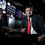 Peter Barnes of Fox News poses for a portrait in Washington, DC, November 11, 2009.