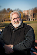 Portrait of Houston Dougharty on the roof of the JRC, November 17, 2011.