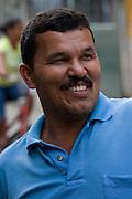 Community leader in Vila Dos Pescadores favela, Cubatão