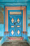 Door to Home in Muslim quarter of Nagapattinam .