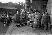 1963 - Overseas students visit Jameson Distillery