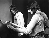 Faces 1970 Rod Stewart and Ron Wood..© Chris Walter..