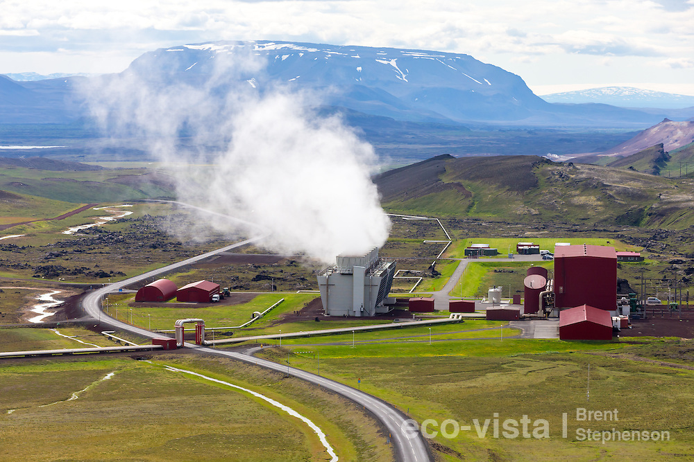 Krafla Power Station, Myvatn, Iceland. July.