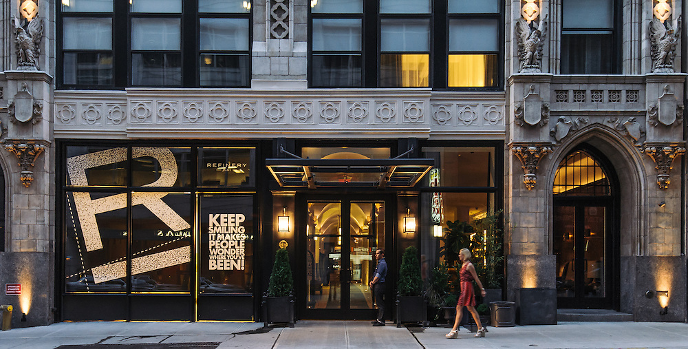 the new boutique hotel the refinery hotel in new york city guillaume