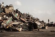 Dinko Valev's junkyard in Yambol, Bulgaria.<br /> <br /> Matt Lutton / Boreal Collective for VICE