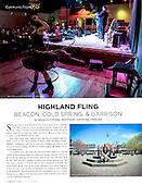"""May 2015 Chronogram, """"Highland Fling"""""""