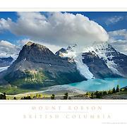 Mount Robson British Columbia Poster