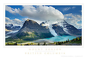 Mount Robson British Columbia Poster