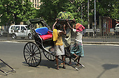Street images from Calcutta, India