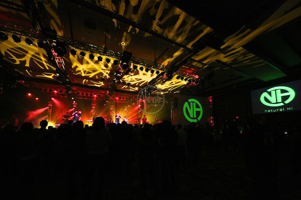 Natural HI performing at Fallfest '11 at Snoqualmie Casino on October 29, 2011
