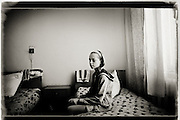 Chernobyl nuclear disaster 25 years ago. 25 years after the nuclear disaster at the Chernobyl power plant in Ukraine, the country are still suffering from sickness and pollution. children in the villages like Drosdyn suffer from general bad health and are admitted to hospitals in the capitol Kiev.