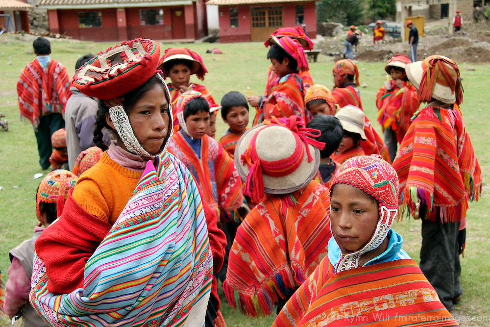South America, Peru, Willoq. Children of Willoq.