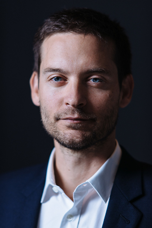 Actor Tobey Maguire is photographed at the WireImage Portrait Studio during the 2014 Toronto Film Festival on September 7, 2014 in Toronto, Ontario. (Photo by Jeff Vespa)