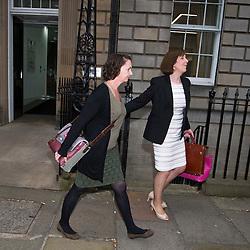 Pauline Cafferkey leaves the Nursing and Midwifery Council hearing, Edinburgh