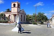 Street in Puerto Padre, Las Tunas, Cuba.