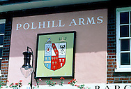 Pub Signs, The Polhill Arms, Halstead, Kent, Britain