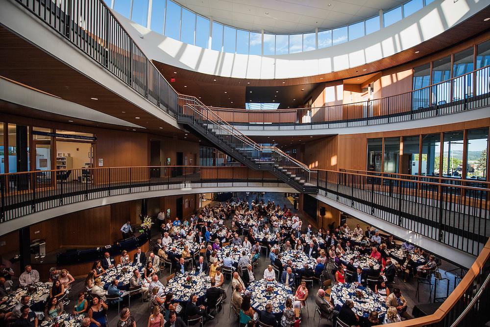 John J. Hemmingson Center Private Dinner night Thursday, July 16, 2015. (Photo by Rajah Bose)