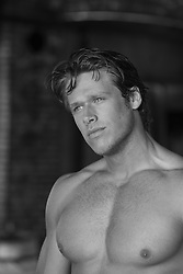 shirtless All American man
