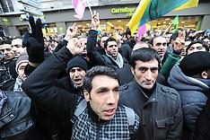 JAN 10 2013 Demonstration: Kurdish Information Office