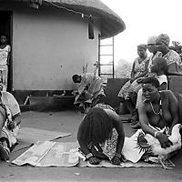 Sangoma initiation, Dolly village