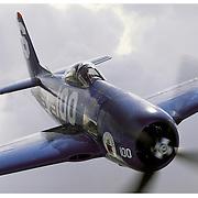 F-8F Bearcat, aerial close up