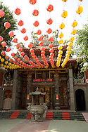 One of the many temples in Tainan, Taiwan.