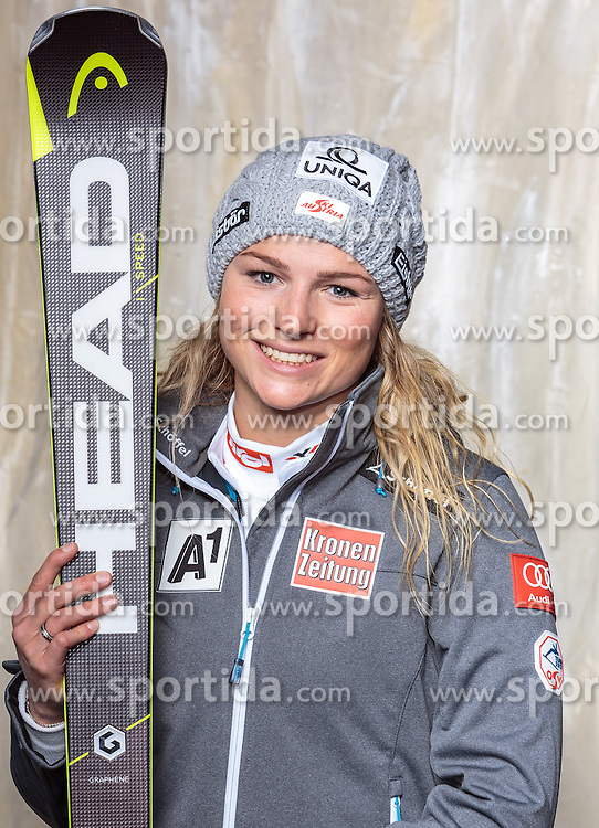 08.10.2016, Olympia Eisstadion, Innsbruck, AUT, OeSV Einkleidung Winterkollektion, Portraits 2016, im Bild Bernadette Schild, Ski Alpin, Damen // during the Outfitting of the Ski Austria Winter Collection and official Portrait Photoshooting at the Olympia Eisstadion in Innsbruck, Austria on 2016/10/08. EXPA Pictures © 2016, PhotoCredit: EXPA/ JFK