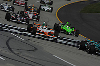Charlie Kimball, Kentucky Indy 300, Kentucky Speedway, Sparta, KY USA 10/2/2011
