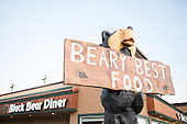 Black Bear Diner _Ray Schulz Chainsaw Carving Demonstration