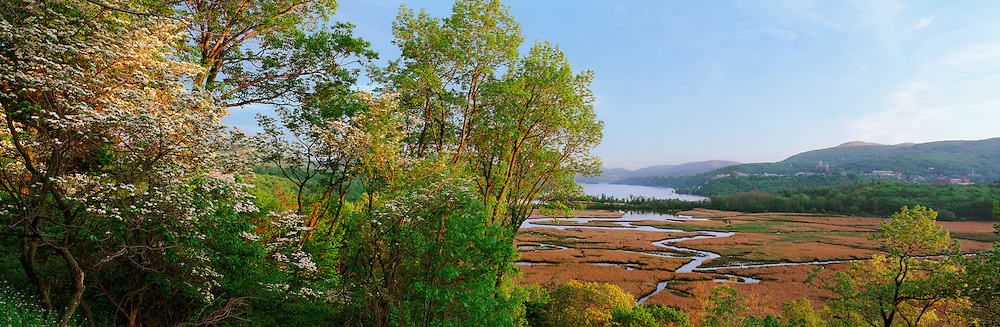 Constitution Marsh, Garrison, New York, Hudson River, View From Boscobel House and Gardens