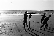 Aksa Beach, India: Cricket near Mumbai