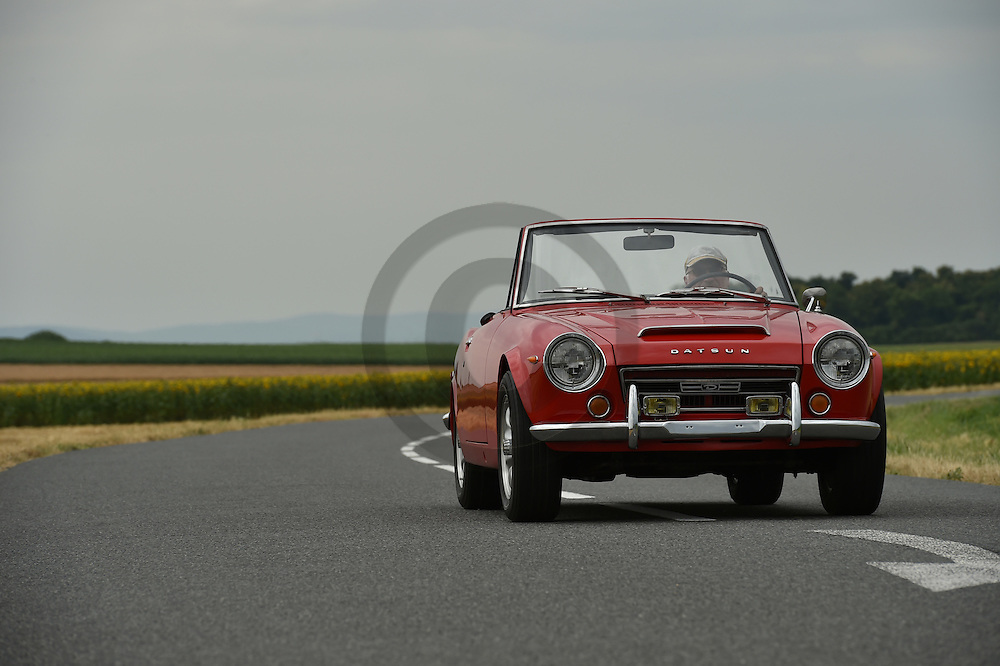 22/07/16 - CHAPPES - PUY DE DOME - FRANCE - Essais DATSUN 2000 ED de 1970 - Photo Jerome CHABANNE