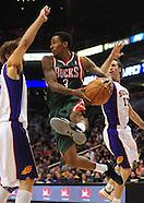 NBA: Milwaukee Bucks at Phoenix Suns//20110202
