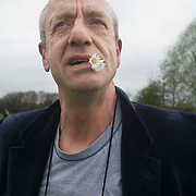 UK. Sudbury. Comedian Arthur Smith takes a walk round Gainsborough country. UK. Sudbury. Comedian Arthur Smith takes a walk round Gainsborough country.