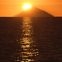 Sunset Behind Kao Volcano..Shot in Kingdom of Tonga