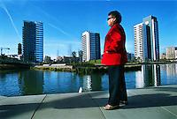 ©Stefano Meluni.20-12-2004 Barcelona Spain.City overview of Barcelona.nella foto: Poble Nou park