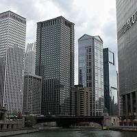 USA, Illinois, Chicago. Chicago River Cruise