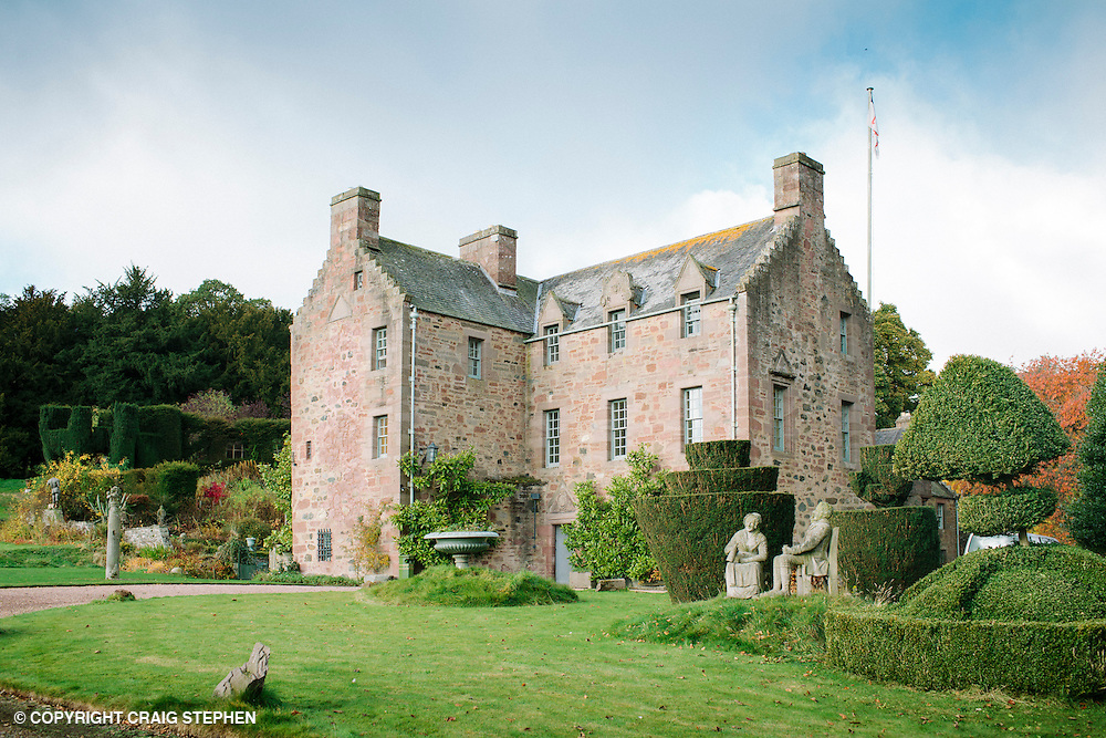 Fingask Castle Scotland film wedding photography