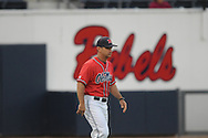 Mississipp coach Mike Bianco vs. UT-Martin college baseball at Oxford-University Stadium in Oxford, Miss. on Wednesday, April 28, 2010.
