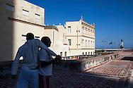 Karate playing -Havana, Cuba