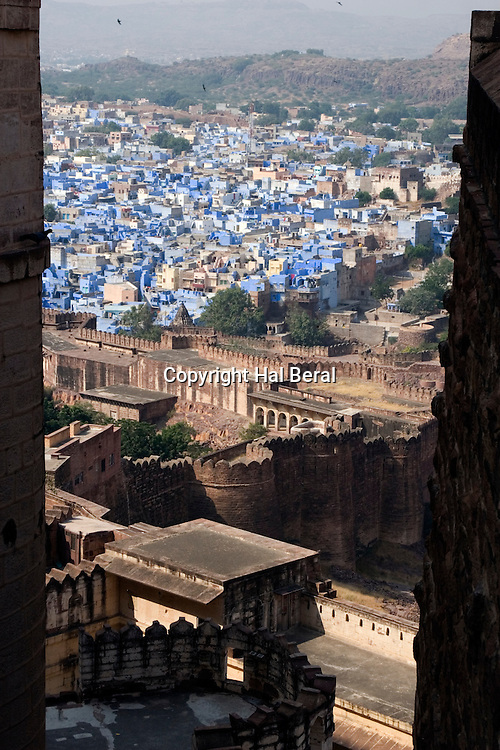 "View of Jodhpur ( the ""Blue City"") from Mehrangarh Fort.Jodhpur, India"