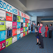 Visitors celebrate the 25th anniversary of the San Diego Convention Center. Photography by Dallas event photographer William Morton of Morton Visuals event photography.