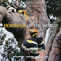 Hornbills Of The World is a photographic guide that gives descriptions of all the species and other general information like their unique breeding behavior.  Tim's photographs are used for most of the Asian species of hornbills.  This soft cover book is by Dr. Pilai Poonswad of Thailand, Dr. Alan Kemp of South Africa and Morten Strange from Singapore.